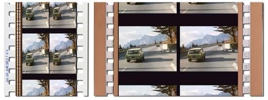 Стереопары из фильма